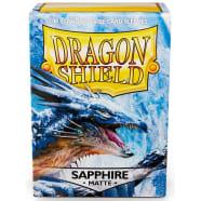 Dragon Shield Sleeves: Matte Sapphire (100) Thumb Nail