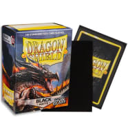 """Dragon Shield Sleeves: Matte Non-Glare Black """"Amina""""(100) Thumb Nail"""