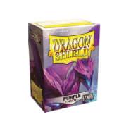 Dragon Shield Sleeves: Matte Non-Glare Purple (100) Thumb Nail