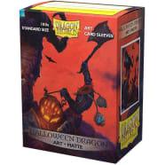 Dragon Shield Sleeves: Matte Art - Halloween Dragon (100) Thumb Nail