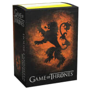 Dragon Shield Sleeves: Standard - Brushed Game of Thrones 'House Lannister' (100) Thumb Nail