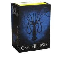 Dragon Shield Sleeves: Standard - Brushed Game of Thrones 'House Greyjoy' (100) Thumb Nail