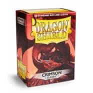 Dragon Shield Sleeves: Crimson (100) Thumb Nail