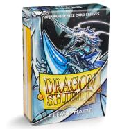 Dragon Shield Sleeves: Japanese Matte Clear (60) Thumb Nail