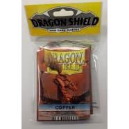 Dragon Shield Sleeves: Copper (50) - Mini Size Thumb Nail