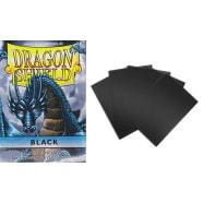 Dragon Shield Sleeves: Black (50) - Mini Size Thumb Nail
