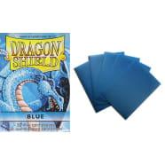 Dragon Shield Sleeves: Blue (50) - Mini Size Thumb Nail