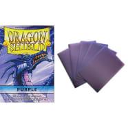 Dragon Shield Sleeves: Purple (50) - Mini Size Thumb Nail
