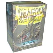 Dragon Shield Sleeves: Brown (100) Thumb Nail