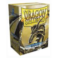 Dragon Shield Sleeves: Gold (100) Thumb Nail
