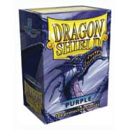 Dragon Shield Sleeves: Purple (100) Thumb Nail
