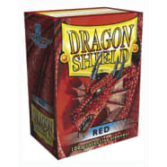 Dragon Shield Sleeves: Red (100) Thumb Nail