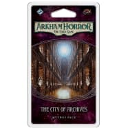 Arkham Horror LCG: The City of Archives Mythos Pack Thumb Nail
