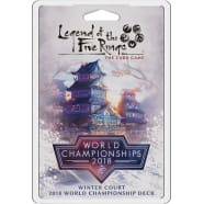 Legend of the Five Rings: Winter Court 2018 World Championship Deck Thumb Nail