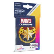 Marvel Champions Sleeves: Captain Marvel (50) Thumb Nail