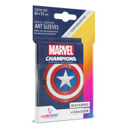 Marvel Champions Sleeves: Captain America (50) Thumb Nail
