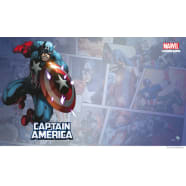 Marvel Champions LCG: Captain America Game Mat Thumb Nail