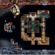 Star Wars Imperial Assault: Coruscant Landfill Skirmish Map Thumb Nail