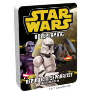 Star Wars Roleplaying Game: Republic and Separatist Adversary Deck Thumb Nail