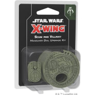 X-Wing Second Edition: Scum and Villainy Maneuver Dial Upgrade Kit Thumb Nail