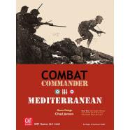 Combat Commander Mediterranean Board Game Thumb Nail