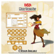 Dungeons & Dragons: Monk Token Set (Fifth Edition) Thumb Nail