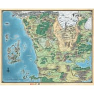 Dungeons & Dragons: Sword Coast Adventurer's Guide - Faerun Map Thumb Nail