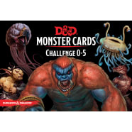 Dungeons & Dragons: Monster Cards Cards - Challenge 0-5 (Fifth Edition) Thumb Nail