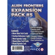 Alien Frontiers: Expansion Pack #5 Thumb Nail