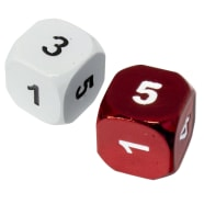 Heavy Metal Magic Guild Dice: Boros Thumb Nail