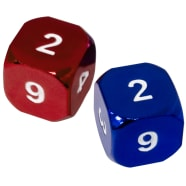 Heavy Metal Magic Guild Dice: Izzet Thumb Nail