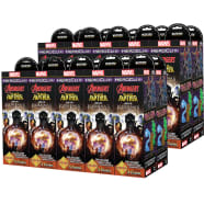 Marvel HeroClix: Avengers Black Panther and the Illuminati Booster Case Thumb Nail