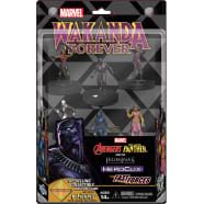 Marvel HeroClix: Avengers Black Panther and the Illuminati - Fast Forces Thumb Nail