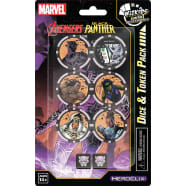 Marvel HeroClix: Avengers Black Panther and the Illuminati Dice and Token Pack Thumb Nail