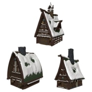 D&D Fantasy Miniatures: Icons of the Realms: Icewind Dale: Rime of the Frostmaiden Ten Towns Papercraft Set Thumb Nail