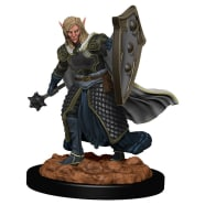D&D Fantasy Miniatures: Icons of the Realms: Premium Figure - Elf Male Cleric Thumb Nail