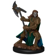 Icons of the Realms: Premium Painted Figure 2020 - Half-Orc Fighter Female Thumb Nail