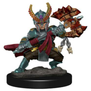 Icons of the Realms Premium Figures Set 5: Halfling Fighter Female Thumb Nail