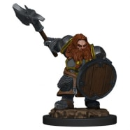 Icons of the Realms Premium Figures Set 5: Dwarf Fighter Male Thumb Nail
