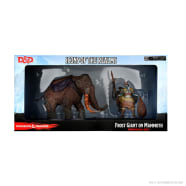 D&D Fantasy Miniatures: Icons of the Realms: Snowbound - Frost Giant and Mammoth Premium Set Thumb Nail