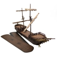 D&D Fantasy Miniatures: Icons of the Realms: The Falling Star Sailing Ship Thumb Nail