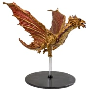 D&D Fantasy Miniatures: Icons of the Realms: Tyranny of Dragons Case Incentive Promo Figure - Ancient Brass Dragon Thumb Nail