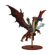D&D Fantasy Miniatures: Icons of the Realms: Tiamat Premium Figure Thumb Nail