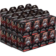 D&D Fantasy Miniatures: Icons of the Realms: Waterdeep: Dungeon of the Mad Mage - Standard Booster Case Thumb Nail