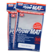 Japanese Card Sleeves - Hyper Matte Clear USA Pack (100) Thumb Nail