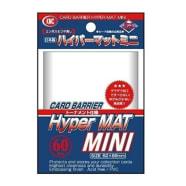 Japanese Mini Card Sleeves - Hyper Matte Clear (60) Thumb Nail