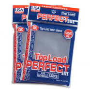 Japanese Card Sleeves - Perfect Size Clear USA Pack (100) Thumb Nail