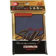 Japanese Card Sleeves - Silky Matte Blue (50) Thumb Nail