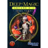 Deep Magic Spell Cards: Arcane 0-3 (5th Edition) Thumb Nail