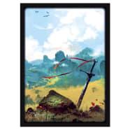 Matte Sleeves: Lands - Plains (50) Thumb Nail